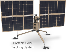 Portable Solar Tracking Array Power Solutions Merlin